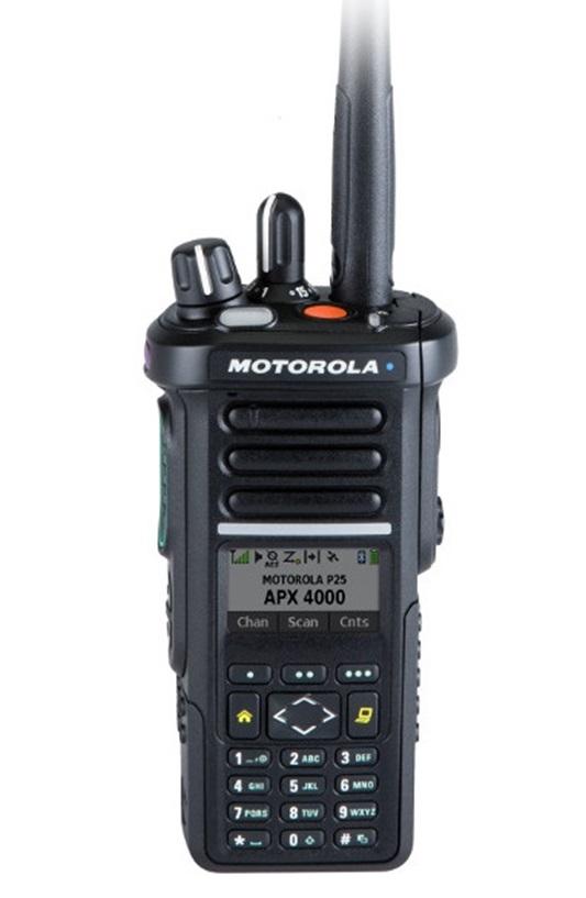 Motorola Apx 4000 Digital Portable Radio Procom