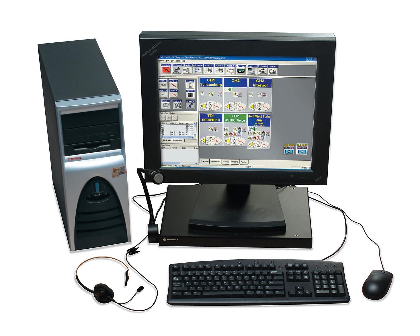 Motorola MCC 5500 Dispatch Console | Procom Communications, LLC