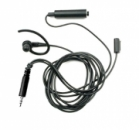 Motorola BDN6730 Black 3-wire Surveillance Kit, PTT-Mic/Speaker Ear Bud