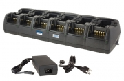 PROCOM TWELVE-UNIT CHARGER WITH EXTERNAL POWER SUPPLY