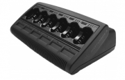 Motorola WPLN4108BR 6 Unit IMPRES Multi Unit Charger MUC