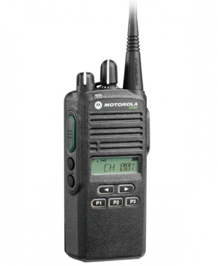 Motorola CP185 VHF Frequency Analog 2-Way Radio