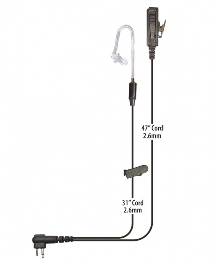 Director Noise Canceling Two Wire Surveillance Kit