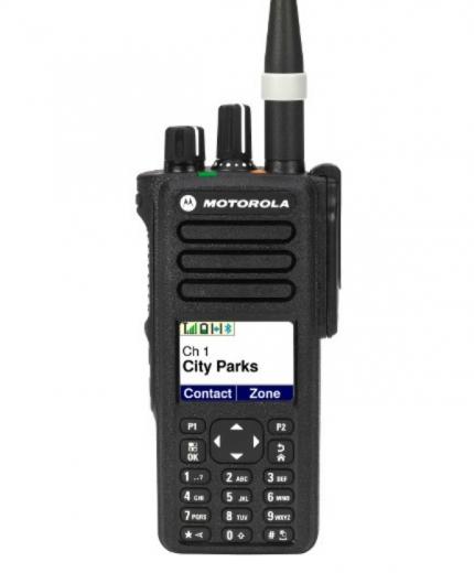 Motorola XPR 7580 800/900 MHz Digital Portable Radio Display