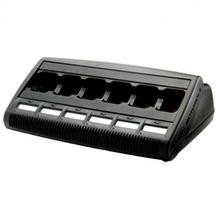 Motorola WPLN4219 Charger, Reconditioner, 6 Unit, MUC, Display IMPRESS